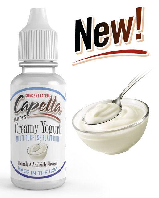 Ароматизатор Capella Creamy Yogurt CF  за 149 руб.