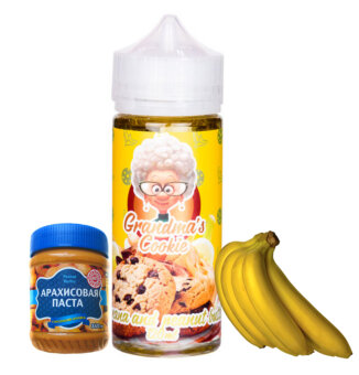 GRANDMA'S COOKIE Banana and Peanut Butter 120 ml