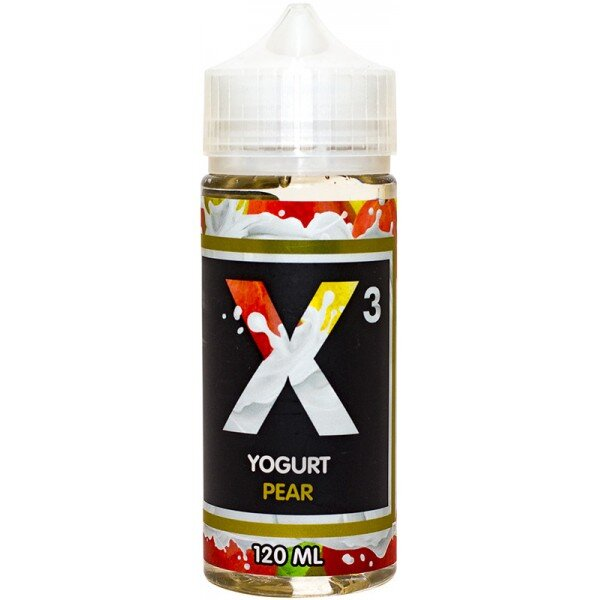 X3 YOGURT PEAR 120ml