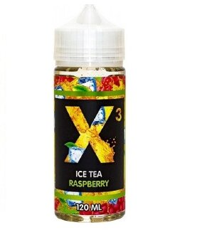 X3 ICE TEA RASPBERRY 120ml