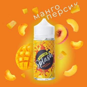 Splash Salt Манго-персик 100 ml