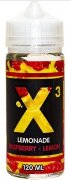 X3 LEMONADE RASPBERRY-LEMON 120ml