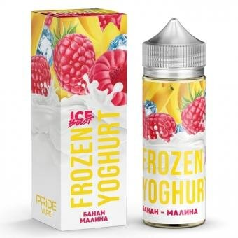 Frozen Yoghurt (Ice Boost) Банан - Малина 120ml за 450 руб.