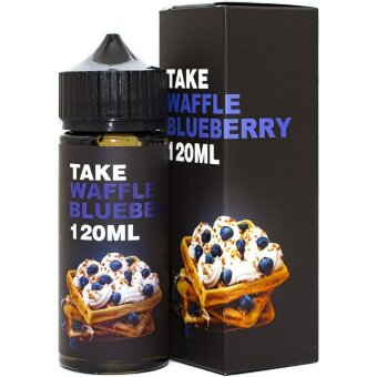 TAKE Waffl blueberry 120 ml