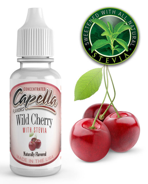 Ароматизатор Capella Wild Cherry with Stevia CF  за 149 руб.