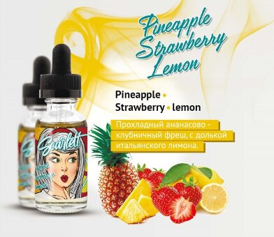 Pineapple-Strawberry-Lemon