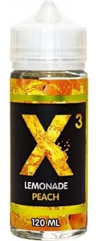 X3 LEMONADE PEACH 120ml