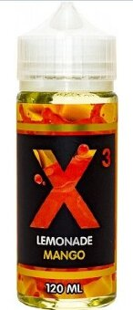 X3 LEMONADE MANGO 120ml