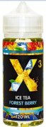 X3 ICE TEA Forest Berry 120ml 1