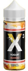 X3 YOGURT MANGO 120ml