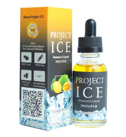 Project ICE Mango Lemon 60 мл за 350 руб.