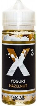X3 YOGURT Hazelnut 120ml